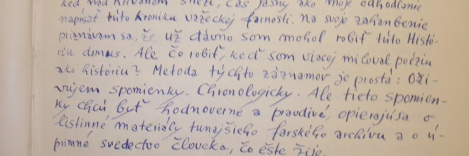 Originálny rukopis Janka Ďurku Silana
